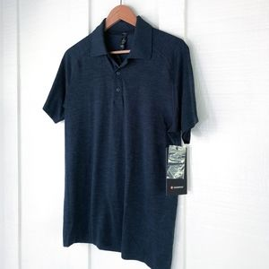 NWT Mens LULULEMON Metal Vent Tech Polo Shirt M